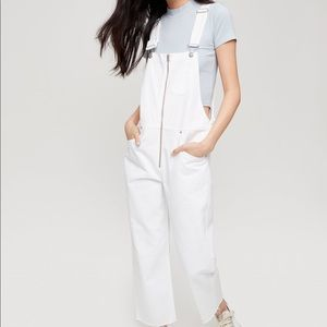 COPY - Wilfred white denim overalls size xs